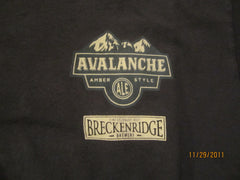 Breckenridge Brewery Avalanche Amber Ale T Shirt Medium Beer Colorado