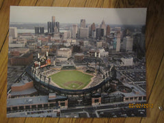 Detroit Tigers Comerica Park Aerial 16 x 20 Photo