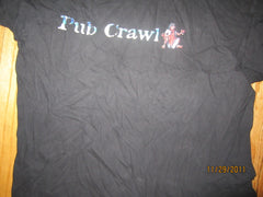 Rome Pub Crawl 2001 T Shirt XL Beer Italy