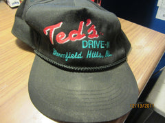 Teds Drive In Bloomfield Hills Mich Snapback Hat Woodward Detroit