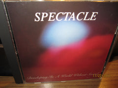 Spectacle Developing In A World Without Sound 1993 CD Detroit Shoegaze 6Trx