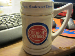 Detroit Pistons 1988 Eastern Conference Champs Ceramic Stein