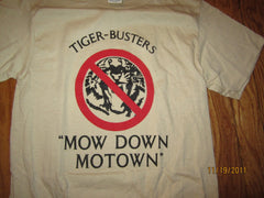 San Diego Padres 1984 Mow Down Motown 1984 World Series T Shirt Small Ched Detroit Tigers