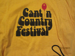 Canton Country Music Festival Vintage 80's T Shirt Large
