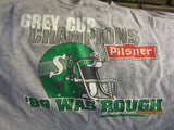 Saskatchewan Roughriders Grey Cup 1989 Throwback T Shirt XL CFL