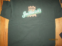 Smithwicks Irish Ale Logo Green T Shirt XL Beer