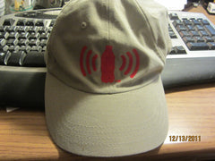 Coca Cola Logo Khaki Adjustable Hat