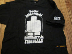 Detroit Riverfront Festivals Vintage T Shirt Large