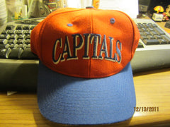 Washington Capitals Logo Fitted 7 1/4 Hat New W/O Tag The Game