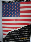 Rolling Stones 1989 US Tour Book Oversized