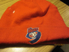 PEI Rocket Hockey Team Red Knit Ski Hat