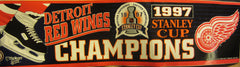 Detroit Red Wings 1997 Stanley Cup Champions Bumper Sticker