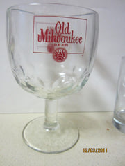Old Milwaukee Vintage Boomba Style Beer Glass