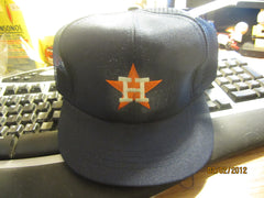 Houston Astros Old Logo Navy Mesh Snapback Hat By Annco