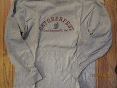 Frankenmuth Michigan Oktoberfest Long Sleeve T Shirt Medium