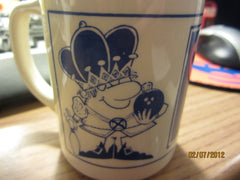 Ark Lanes Bowler Of The Month Coffee Mug Ark West Detroit Vintage