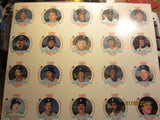 Detroit Tigers 1986 Cain's 20 Card Set Uncut Sheet