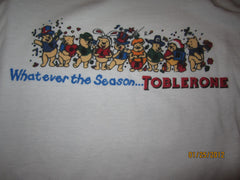 Toblerone Chocolate Winnie The Pooh T Shirt Large