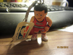 Los Angeles Clippers Red Jersey L'il Brat Keychain