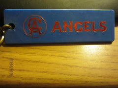 California Angels Vintage 70's Logo Lucite Keychain