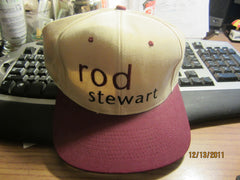 Rod Stewart Older Tour Snapback Hat New W/O Tag