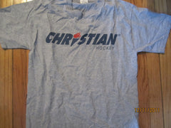 Christian Hockey Equipment T Shirt Medium