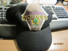 Farjestad Wolves Hockey Club Logo Adjustable Snapback Hat Sweden