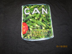 Can Ege Bamyasi Logo Grey T Shirt Small Krautrock Forefathers