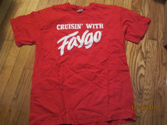 Faygo Soda Cruisin' With Logo Red T Shirt Large Detroit Soda