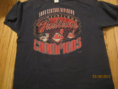 Cleveland Indians 1995 Central Division Champions T Shirt XL