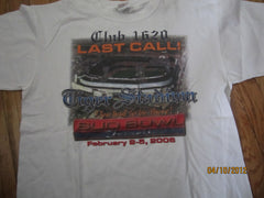 Detroit Tiger Stadium Last Call Bud Bowl 2006 T Shirt Medium
