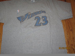 Washington Wizards #23 Michael Jordan T Shirt Large Nike