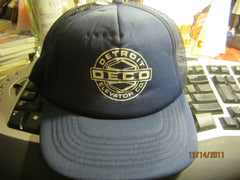 Detroit Elevator Co. Mesh Trucker Snapback Hat DECO