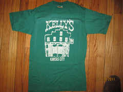 Kellys Bar Kansas City 70's Vintage T Shirt Small