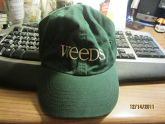 Weeds Showtime TV Show Promo Green Adjustable Hat New W/O Tag