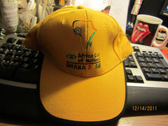Africa Cup Of Nations Ghana 2008 Adjustable Hat Soccer Football