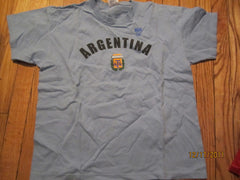 Argentina World Cup Team T Shirt Kids XL