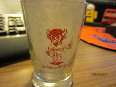 Nick's At Indiana University Small Beer Glass Vintage