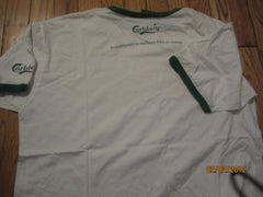 Carlsberg Beer Promo Ringer French T Shirt XL