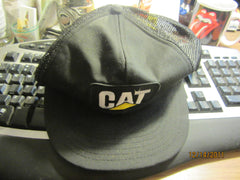 CAT Tractors Vintage Mesh Trucker Adjustable Snapback Hat
