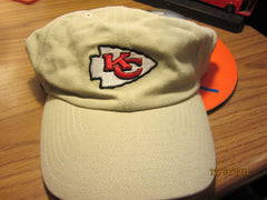 Kansas City Chiefs Logo Khaki Hat New