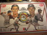 Detroit Tigers 1984 Big Boy Placemet Alan Trammell & Lou Whitaker