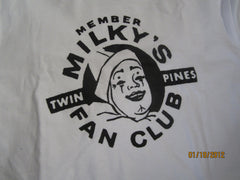 Milky The Clown Fan Club T Shirt Small Detroit Twin Pines Dairy