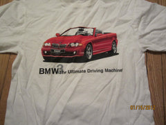 BMW 3 Series Ultimate Driving Machine T shirt Medium