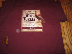 Wild Turkey Kentucky Bourbon Logo T Shirt Large