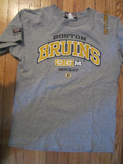 Boston Bruins Grey Practice T Shirt Large By CCM