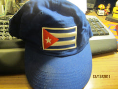 Cuba Flag Logo Fitted hat Medium Cuban