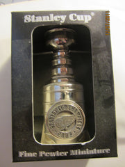 Detroit Red Wings Nice Pewter 2002 Mini Stanley Cup New In Package