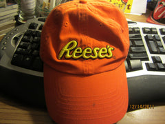 Reese's Peanut Butter Cups Logo Orange Adjustable Hat