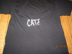 Cats Vintage T Shirt Medium By Ched 1981 Play Theater
